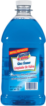 Special Value Streak-Free Shine W/Ammonia Refill Glass Cleaner 67.6 Oz Plastic Bottle