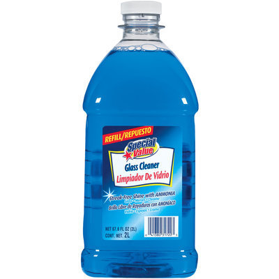Special Value Streak-Free Shine W/Ammonia Refill Glass Cleaner 67.6 Oz Plastic Bottle