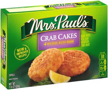 Mrs. Paul's® Crab Cakes 11.6 oz. Box