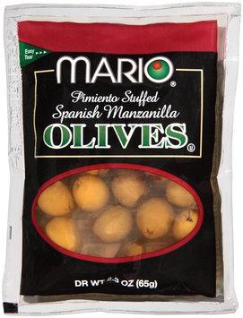 Mario® Pimiento Stuffed Spanish Manzanilla Olives 2.3 oz. Package