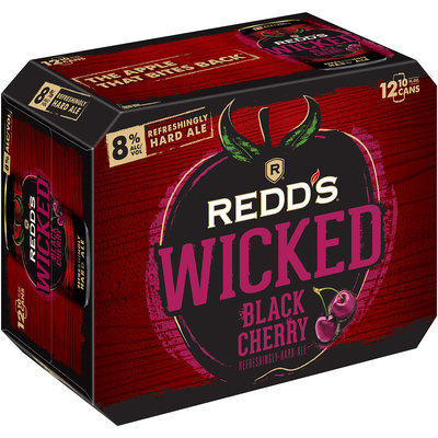 Redd's Wicked® Black Cherry Refreshingly Hard Ale 12-10 fl. oz. Cans