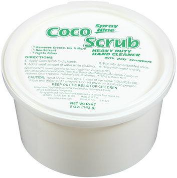 Spray Nine® Coco Scrub Hand Cleaner 5 Oz Plastic Container