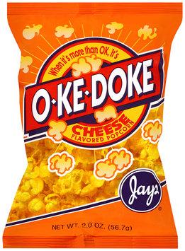 jay's® o-ke-doke® cheese flavored popcorn