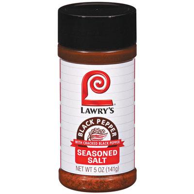 Spice & Seasoning W/Cracked Black Pepper Lawry's Seasoned Salt 5 Oz Shaker