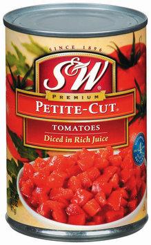 S&W® Petite-Cut Diced Tomatoes