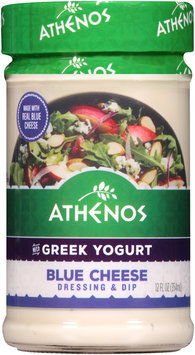 Athenos Blue Cheese Dressing & Dip 12 fl. oz. Jar