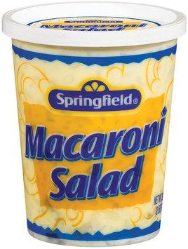 Springfield Ready to Serve Macaroni Salad 32 Oz Tub