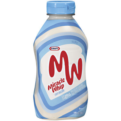 Kraft Miracle Whip Light Dressing 12 Oz Squeeze Bottle
