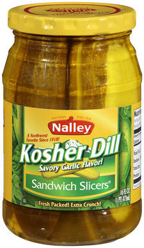 Nalley®Kosher Dill Sandwich Slicers