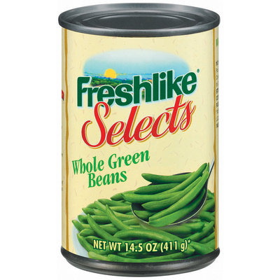 Freshlike Selects Whole Green Beans 14.5 Oz Can