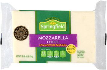 Springfield® Low-Moisture Part-Skim Mozzarella Cheese