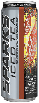 Sparks Iced Tea 8% Alcohol By Volume Premium Malt Beverage 24 Oz Can