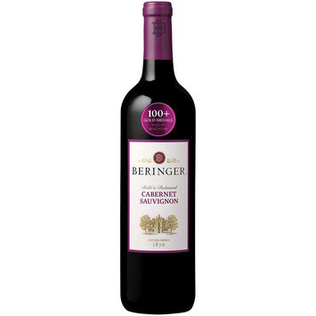 Beringer® Cabernet Sauvignon Wine 750mL Glass Bottle