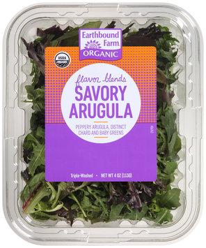 Earthbound Farm® Organic Flavor Blends Savory Arugula 4 oz. Clamshell