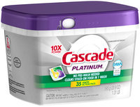 Cascade® Platinum™ ActionPacs™ Dishwasher Detergent Lemon Burst 35 Ct