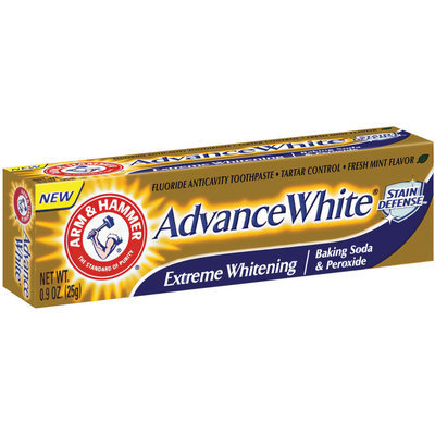 Arm & Hammer® Advance White® Tartar Control Fluoride Anticavity Toothpaste .9 oz.