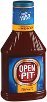 Authentic Open Pit Made With Pure Honey Barbecue Sauce 18 oz Squeeze Bottle