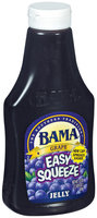 Bama Spreads Grape Easy Squeeze, Modified 6/2/07 Jelly 21.5 Oz Squeeze Bottle