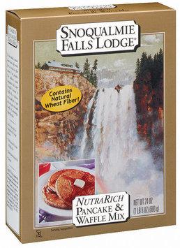 Snoqualmie Falls Lodge Nutra Rich Pancake & Waffle Mix 24 Oz Box
