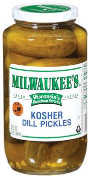 Milwaukee's Kosher Dill Pickles 32 Fl Oz Jar