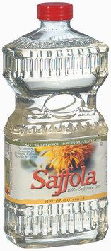 Saffola 100% No Cholesterol Safflower Oil 32 Oz Plastic Bottle