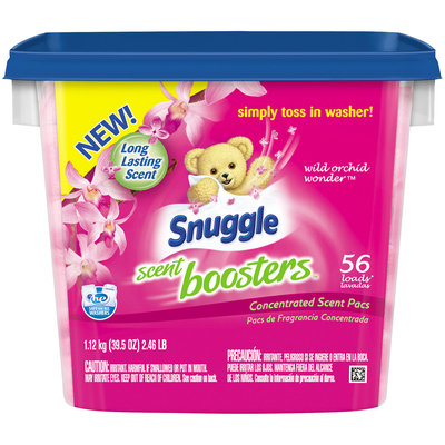 Snuggle Scent Boosters™ Wild Orchid Wonder™ Concentrated Scent Pacs 39.5 oz. Tub