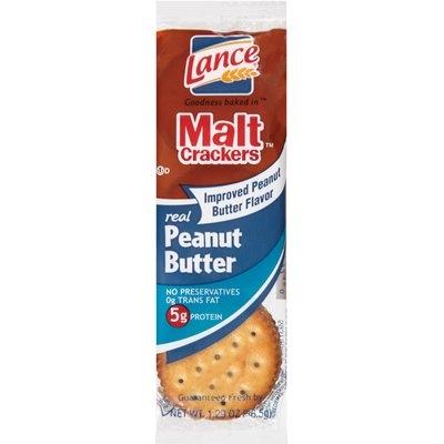 Lance® Malt™ Real Peanut Butter Crackers 1.29 oz. Wrapper