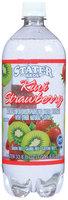 Stater Bros. Kiwi Strawberry Sparkling Water Beverage 33.8 Oz Plastic Bottle