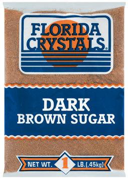 Florida Crystals Dark Brown Sugar 1 Lb Bag