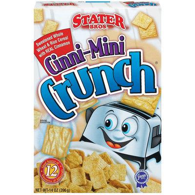 Stater Bros. Cinni-Mini Crunch Cereal 14 Oz Box