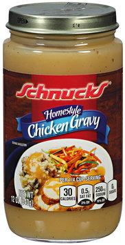 Schnucks® Homestyle Chicken Gravy 12 oz. Jar