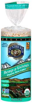 Lundeberg® Organic Hemp-a-Licious Brown Rice Cakes 9.6 oz. Bag