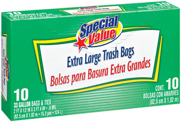 Special Value Trash Bags