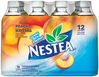 Nestea Peach Iced Tea 12 - 0.5L Plastic Bottles