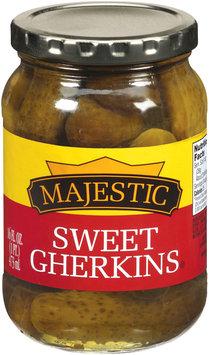 Majestic Sweet Gherkins Pickles 16 fl. oz.