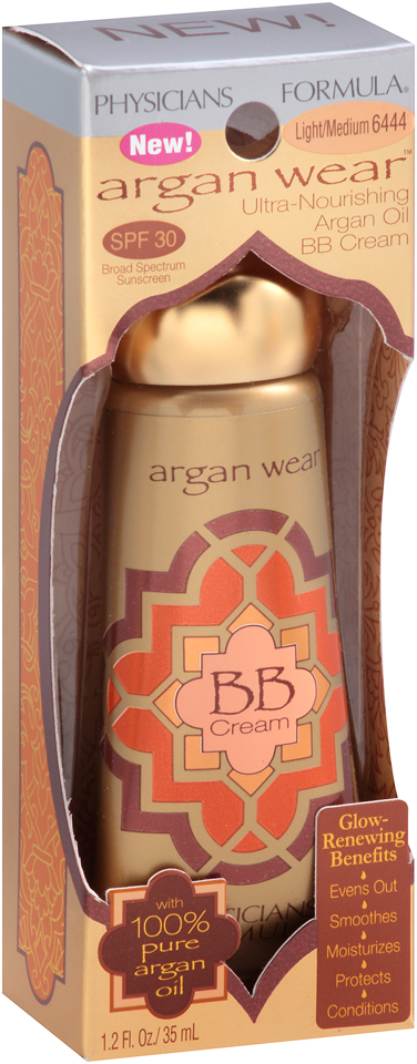 Physicians Formula® Argan Wear™ 6444 Light/Medium Ultra-Nourishing Argan Oil BB Cream 1.2 fl. oz. Box