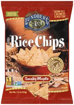 Lundberg® Smoky Maple Rice Chips 1.5 oz. Bag