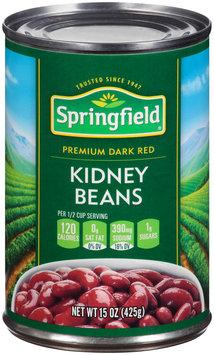 Springfield® Premium Dark Red Kidney Beans 15 oz. Can