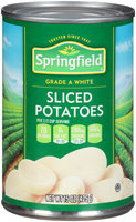 Springfield® Sliced White Potatoes 15 oz. Can