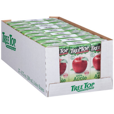 Tree Top® 100% Apple Juice 27-6.75 fl. oz. Tray
