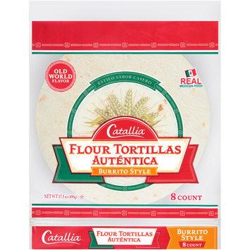 Catallia® Burrito Style Flour Tortillas 17.5 oz. Bag