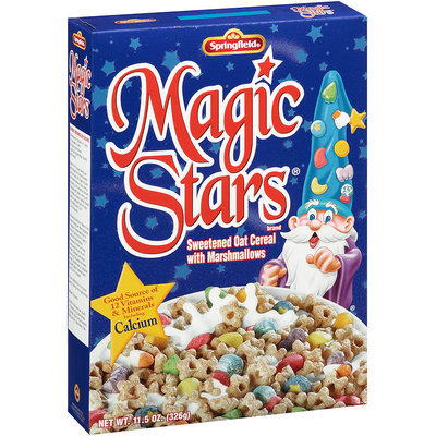 Springfield® Magic Stars® Sweetened Oat Cereal 11.5 oz. Box