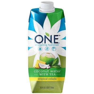 O.N.E.™ Tropical Colada Coconut Water with Tea 16.9 fl. oz. Carton
