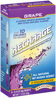 R.W. Knudsen Recharge Grape 0.14 Oz Packets Flavored Sports Beverage Mix 8 Ct Box