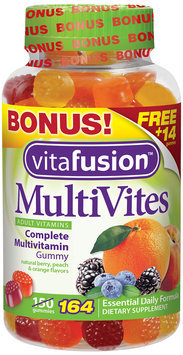 Vitafusion™ MultiVites Complete Multivitamin Gummy 164 ct Bottle