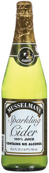 Musselman's  Sparkling Cider 750 mL Bottle