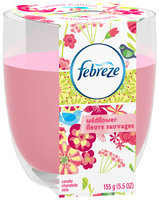 Febreze® Wildflower Air Freshener Candle 5.5 oz. Sleeve