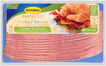 Butterball® Everyday Lower Sodium Turkey Bacon