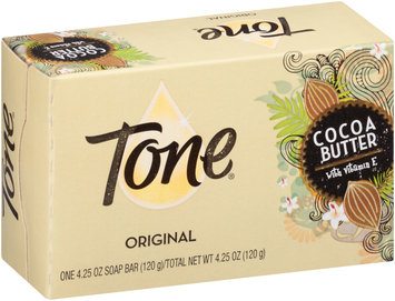Tone® Original Cocoa Butter with Vitamin E Soap Bar 4.25 oz. Box