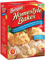Banquet Homestyle Bakes  Country Chicken Mashed Potatoes & Biscuits 30.9 Oz Box
